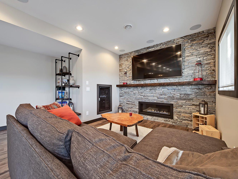Basement development calgary renovations basement builders