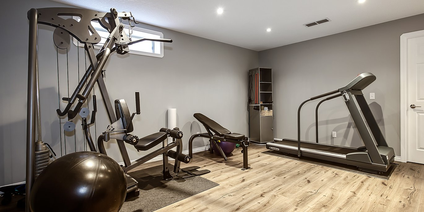 Home Gyms Basement Development Builders Wiring Calgary At We Can Help You Design Your Gym Space To Suit Unique Requirements